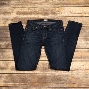 Hudson Colette mid rise skinny jeans 26